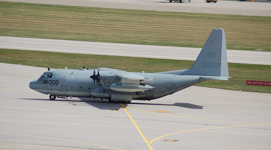 US Marines ground air tanker type involved in fatal crash