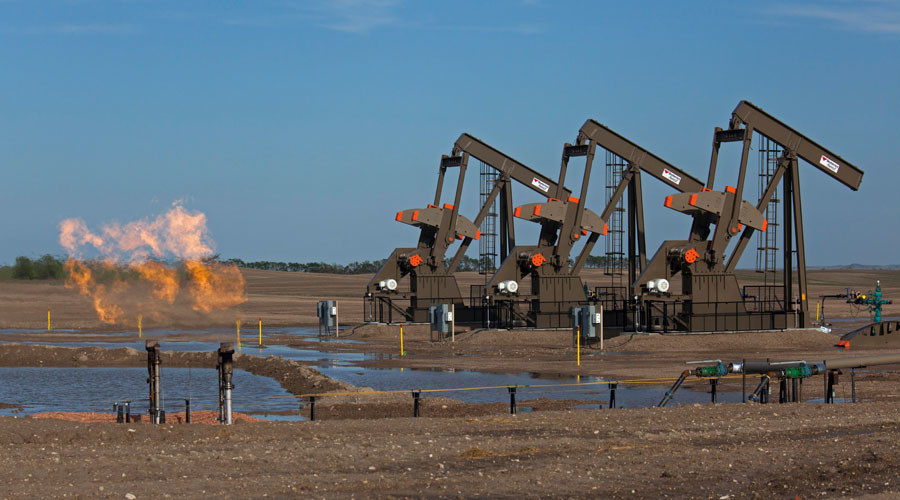 Oil surges to 2-mth high on US stock draw & possible Venezuela sanctions