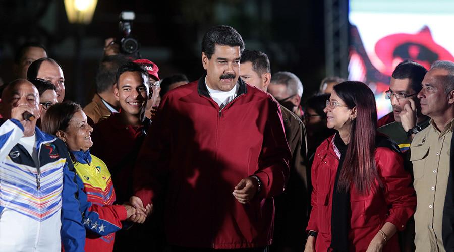 US Treasury sanctions Venezuelan president Maduro
