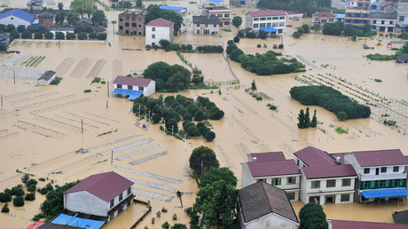 Heavy rains cause floods in China, 260,000 people displaced