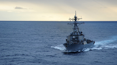 FIL PHOTO: The Arleigh Burke-class guided-missile destroyer USS Stethem ©