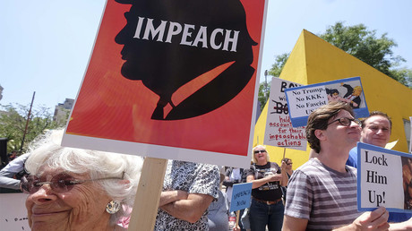 'Dump Trump': Impeachment march takes to LA streets
