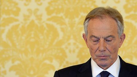 Former Prime Minister Tony Blair. ©Stefan Rousseau