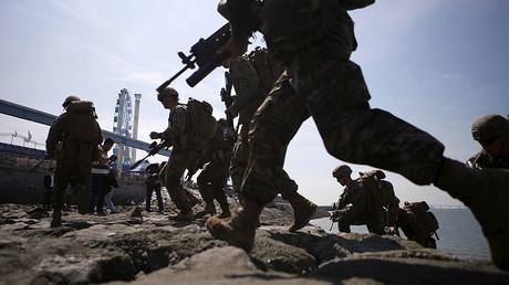 US and South Korean marines drill at Incheon, South Korea, in this 2015 file photo © Kim Hong-Ji