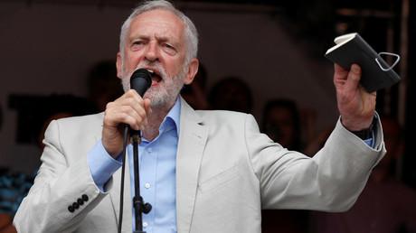 Britain's opposition Labour Party leader, Jeremy Corbyn © Peter Nicholls
