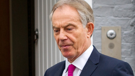 Former British Prime Minister Tony Blair © Pete Maclaine / Global Look Press