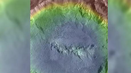 Haulani Crater, Ceres © NASA