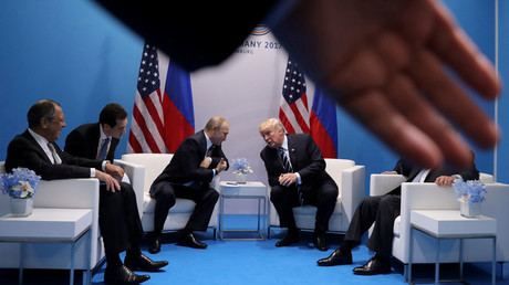 Russia's President Vladimir Putin and US President Donald Trump © Carlos Barria