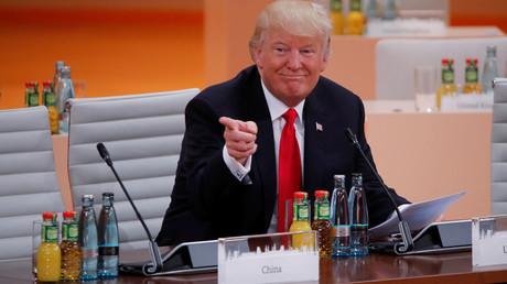 US President Donald Trump © Wolfgang Rattay
