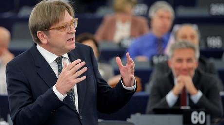 European Union's chief Brexit negotiator Guy Verhofstadt © Vincent Kessler