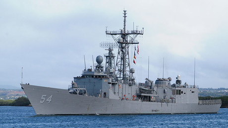 The Oliver Hazard Perry-class fast frigate USS Ford (FFG 54). ©U.S. Navy