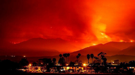 Massive wildfires simmer across California