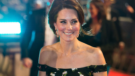 Britain's Catherine, the Duchess of Cambridge. © Daniel Leal-Olivas