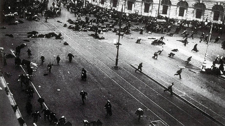 #1917LIVE: 500,000-strong anti-govt rally turns violent in Russian capital, mass casualties reported