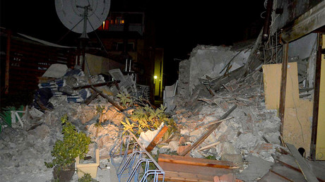 2 fatalities, flooding from tsunami after powerful quake in Mediterranean Sea (PHOTOS, VIDEOS)