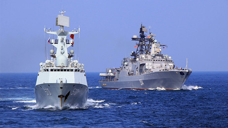 Chinese military vessels enter Russia's Baltic for 1st time as joint drills kick off
