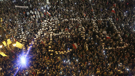 Thousands protest judicial reform in cities across Poland