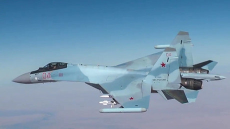 A Sukhoi-30 aircraft. ©Ministry of defence of the Russian Federation