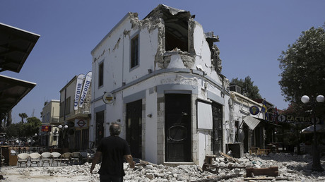 Aegean aftermath: Full scale of earthquake damage revealed