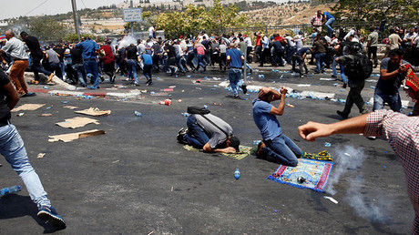 At least 2 Palestinians reportedly shot dead as protests rage in Jerusalem