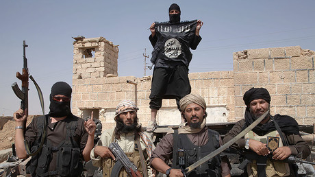 FILE PHOTO: Islamic state fighters © Medyan Dairieh / Global Look Press