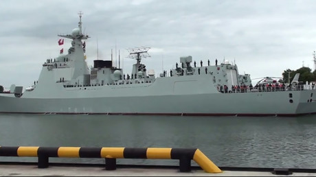 Chinese naval ships enter Russian Baltic Sea port ahead of joint drills