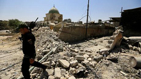 Sputnik correspondent comes under fire in Mosul