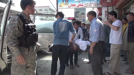 Deaths and injuries after massive blast rocks Kabul (PHOTOS)