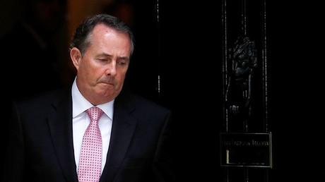 Britain's Secretary of State for International Trade, Liam Fox. ©Peter Nicholls