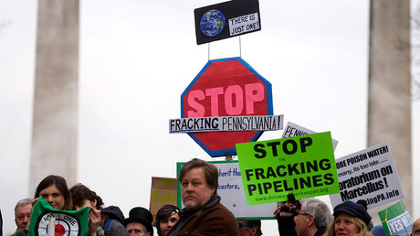 'False information, unverified sources': Russia denies funding anti-fracking campaign in US
