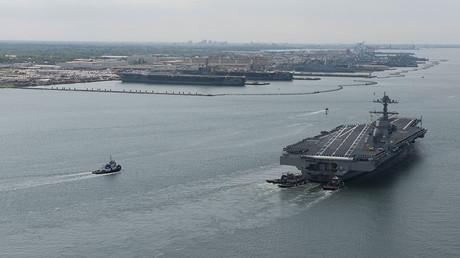 USS Gerald R. Ford © Ridge Leoni