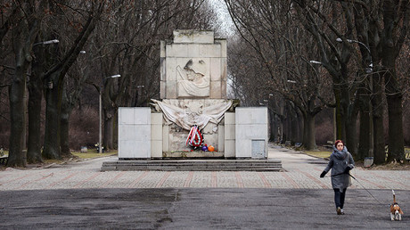 The Monument of the Gratitude for the Soviet Army Soldiers at Skaryszewski Park in Warsaw. ©Alexey Vitvitsky
