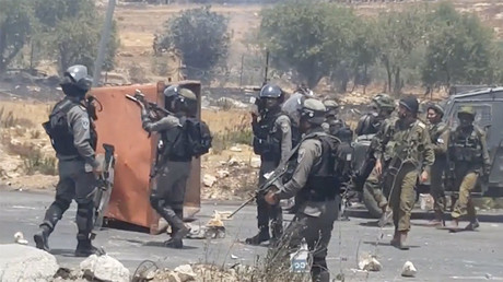 Israeli forces use tear gas, rubber bullets in West Bank clashes with Palestinians