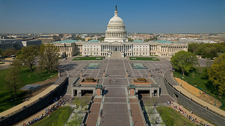 Aerial view of the US Capitol in Washington © Aoc / Zumapress.com / Global Look Press