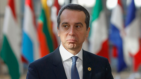 Austrian Chancellor Christian Kern © Yves Herman