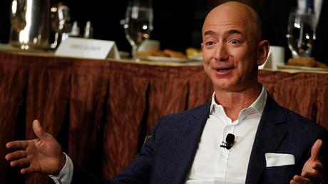 Amazon CEO Jeff Bezos © Brendan McDermid