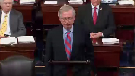 US Senate Majority Leader Mitch McConnell (R-Kentucky)