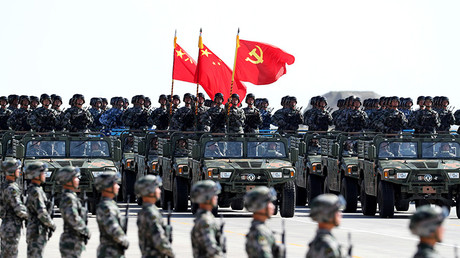 China marks national army anniversary with massive military parade