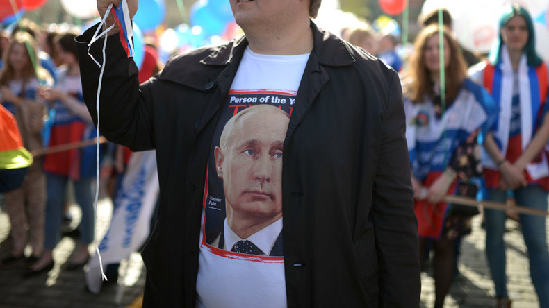 Putin tops latest Russian approval ratings with 83% support
