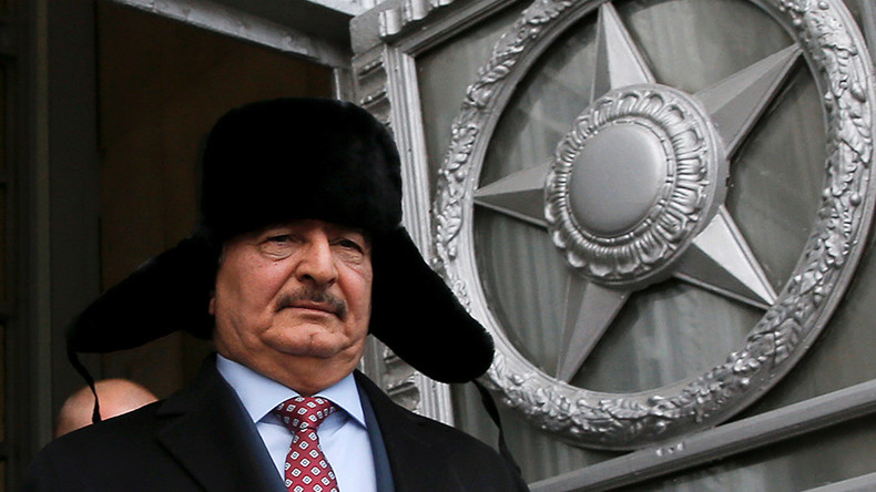 Libya's military strongman Haftar to meet Russian FM Lafrov in Moscow