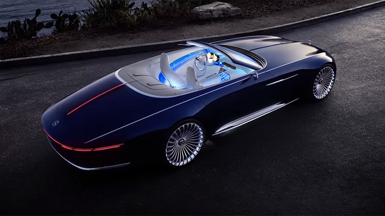 Vision of the future? Mercedes-Benz teases luxury electric ...