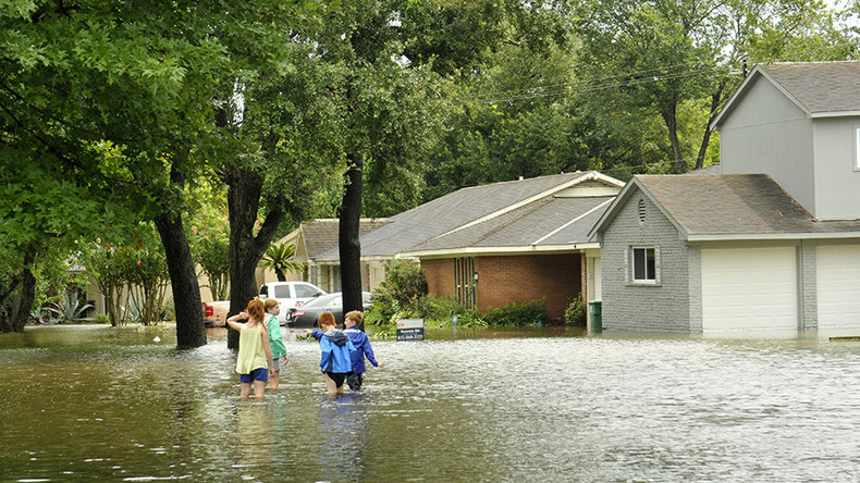 Where Is The Closest Gas Station To Me >> Texans dodge sinkholes & tornados, fish in houses flooded ...