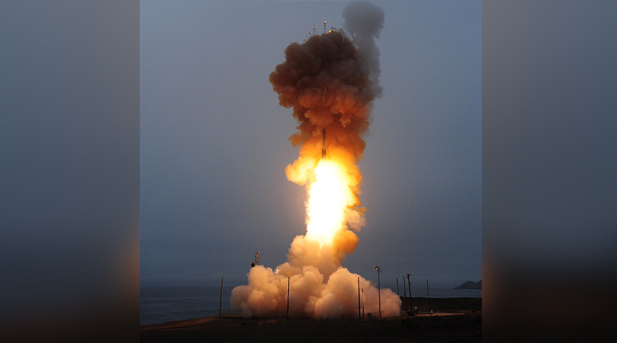 USAF test-fires Minuteman III missile days after N. Korean ICBM launch