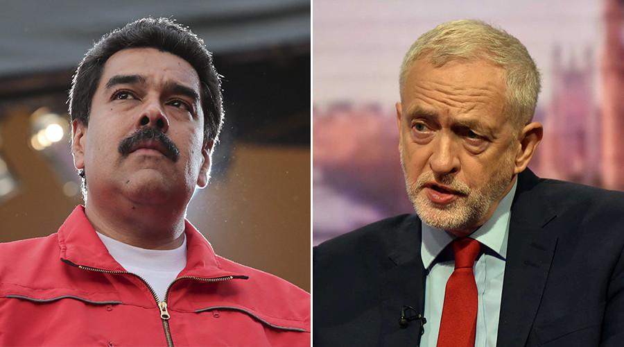 Venezuela unrest used to target Labour leader Corbyn