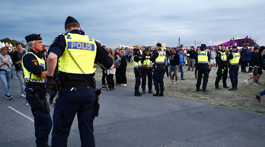 4 teenage girls raped at Swedish music festival, 11 sexually abused – police