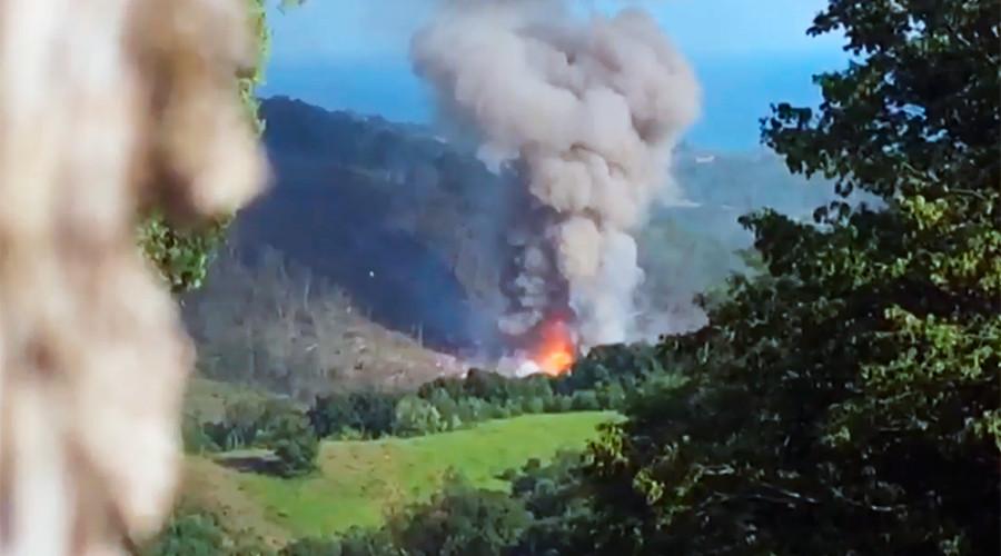 35 Russian tourists among dozens injured in munition depot blast in Abkhazia (VIDEOS)