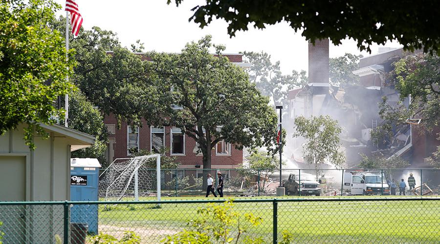 2 dead in Minneapolis school 'gas explosion' (PHOTOS)