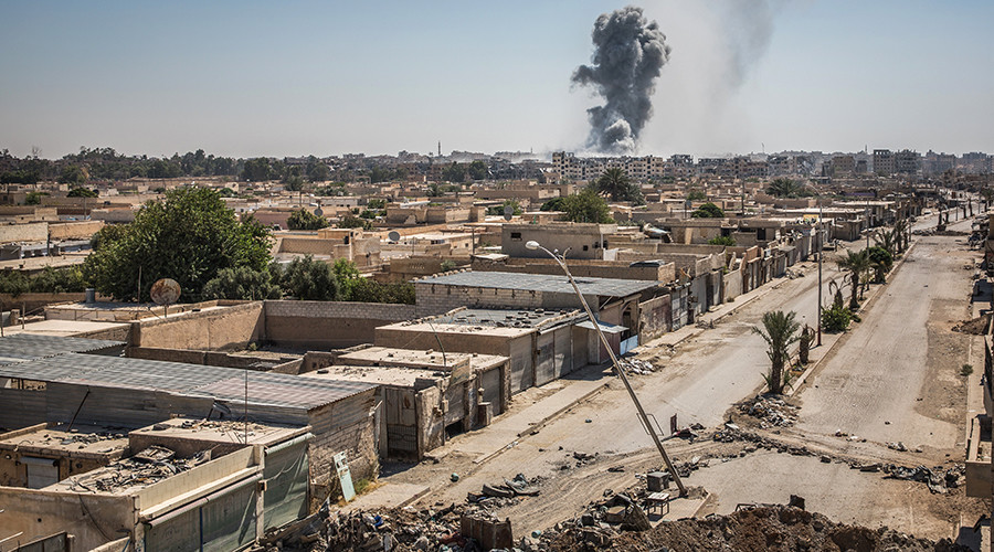 US-led Coalition says 624 civilian casualties from airstrikes in Iraq, Syria