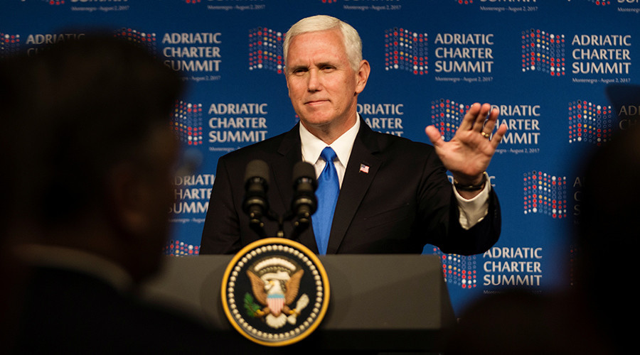 In Balkans speech, Trump's VP pledges allegiance to the swamp