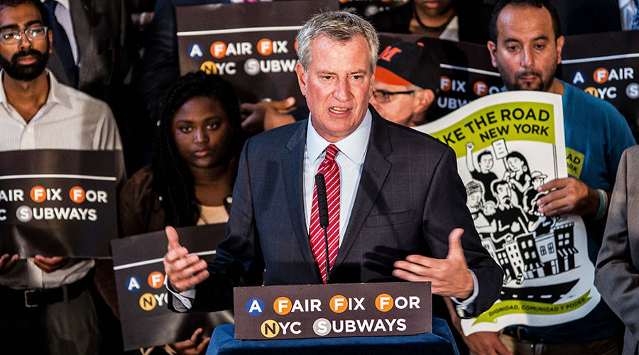 Tax the rich, subsidize the poor: New York mayor proposes subway fix